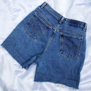 Vintage Levi's 550 Cut-Off Shorts